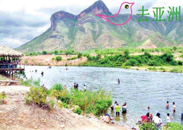 掸南的新旅游景点星康山:欣赏青山(象头山),观瞻绿水(苏基河)