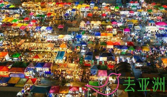 泰国曼谷Ratchada夜市