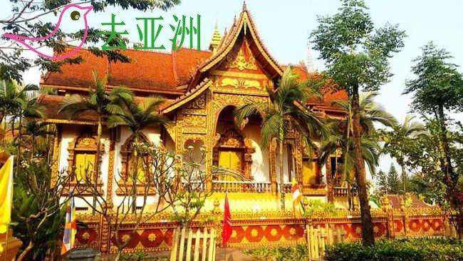 在磨丁接受老挝边检入境
