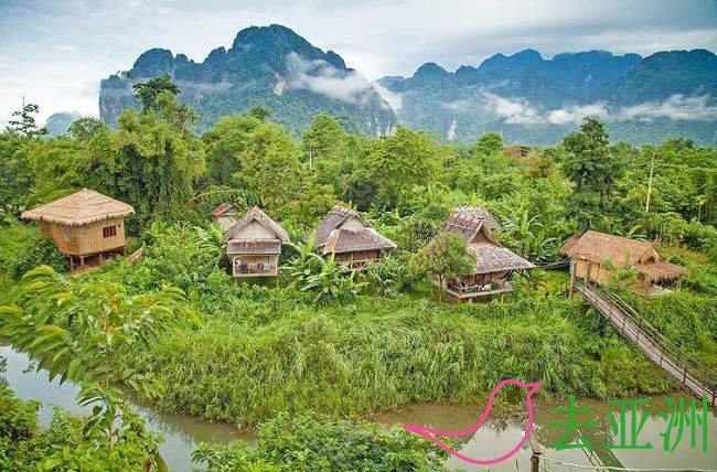 老挝自驾游,磨丁起至会晒止,全长247公里,靠右行驶,全程