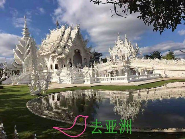 清莱—最美白庙