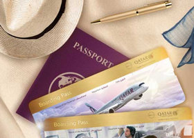 卡塔尔航空 冬季出行经济舱特惠,商务舱含税