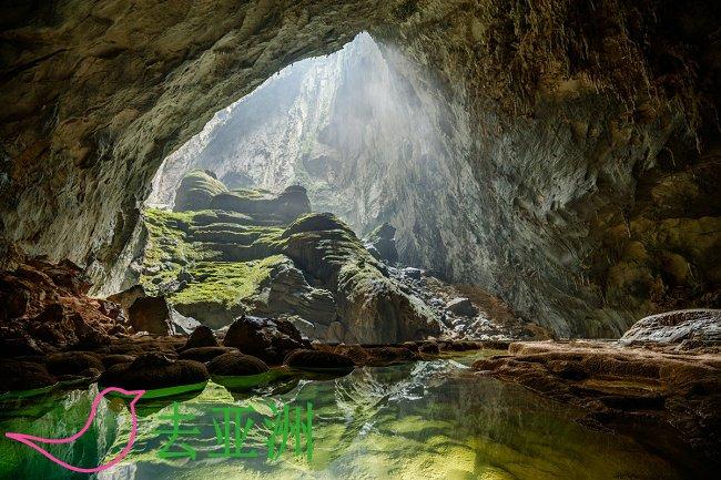 """韩松洞,世界第一大洞穴,2003年入选""""世界自然遗产"""""""