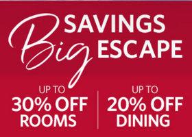 千禧酒店 物超所值的假期体验 乐享多达65折的房价折扣