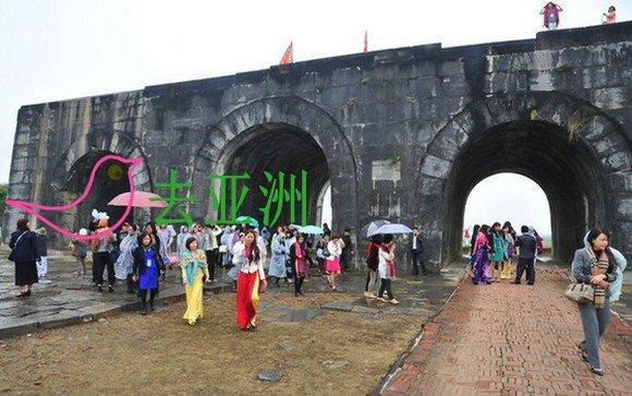 春节期间,2020年免费游览清化省胡城遗产保护中心