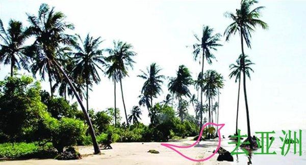 缅甸埃雅度假海滩,纯天然度假海滩,享受海滩的气息