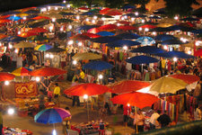 清迈长康夜市Chiang Mai Night Bazaar