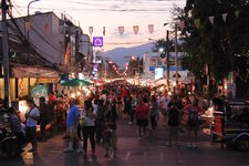 清迈周日市集Chiang Mai Sunday Walking Street