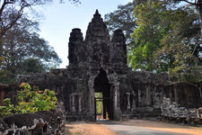 吴哥王城胜利门Victory Gate of the Angkor Thom