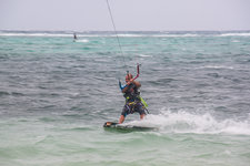 布拉波海滩风帆冲浪Boardsailing at Bulabog Beach