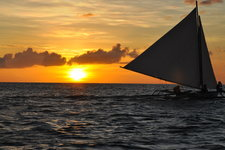 落日帆船Sunset Sailing