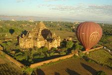 吴哥窟热气球Angkor Balloon