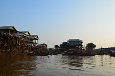 洞里萨湖日落Tonle Sap Lake Sunset