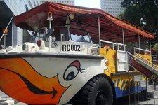新加坡鸭子船Singapore Duck Tour
