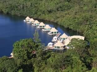 四河流浮动寄宿酒店
