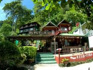 良好的景观度假村披披酒店